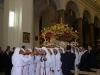 L'urna con il Cristo in Chiesa Madre (foto Alessio Carità)